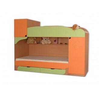 Кровать детская-1 Винни 80*190 Летро