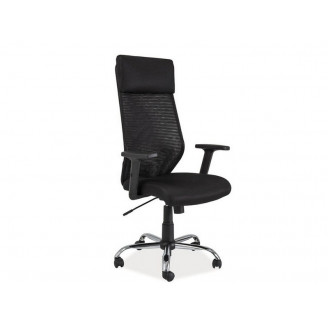 Офисное кресло Q-211 Черный/черный Signal