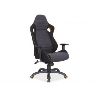 Офисное кресло Q-229 Черный/серый Signal