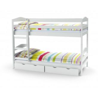 Кровать двухъярусная Sam Halmar