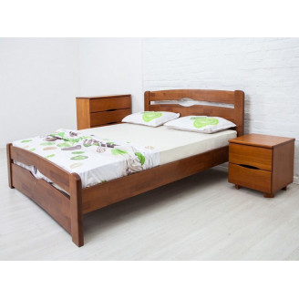 Кровать Олимп Нова 160*200 орех У-1