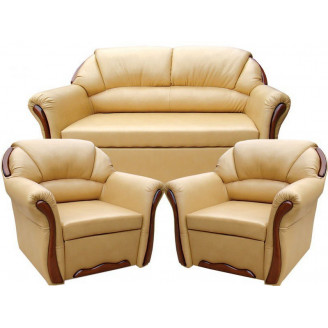 Комплект Бостон 211 с раскладными креслами Вика