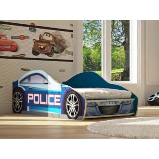 Кровать-машинка Бренд-5 Полиция New Viorina-deko