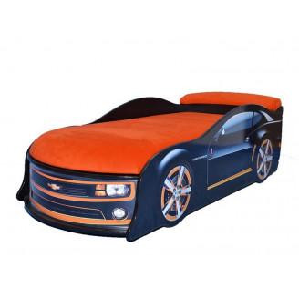 Кровать машина с матрасом Chevrolet Camaro MebelKon
