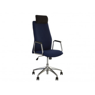 Кресло для руководителя Solo HR steel SL AL33 Nowy Styl