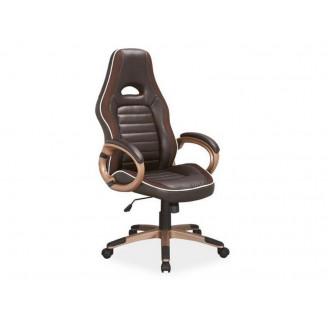 Кресло для руководителя Q-150 Коричневый Signal