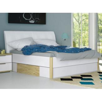 Кровать Флоренция с мягкой спинкой  +  ящики 180*200 MiroMark