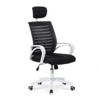 Офисное кресло Socket черно-белое Halmar