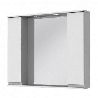 Зеркало Моника МШНЗ3-100 белый Ювента