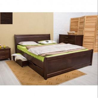Кровать Сити с фил. с ящ.140х190 темн.венге  +  ус. Лам. У-1