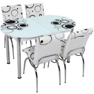Кухонный комплект Лотос-М SK OVAL 011 130*75