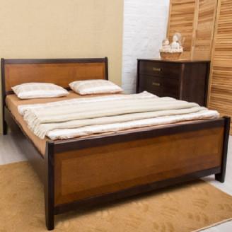 Кровать Сити с интарсией Олимп