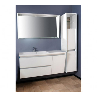 Комплект мебели для ванной Cyprus/Peggy 1250 L/R Белый Fancy Marble