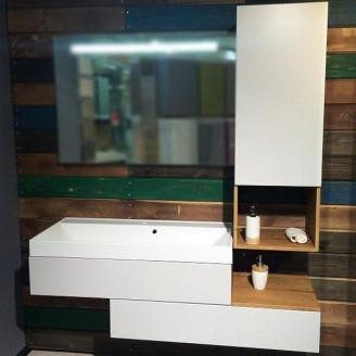 Комплект мебели для ванной Tristan/Mersey Белый Fancy Marble