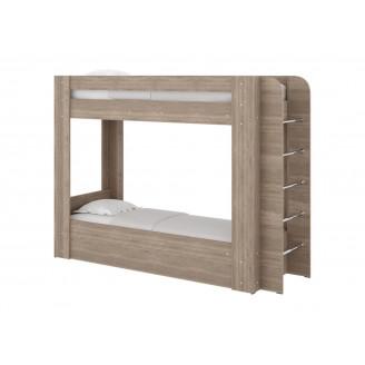 Кровать двухъярусная Олимп Пехотин