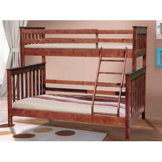Двухъярусная кровать Скандинавия 90140*200 Микс Мебель