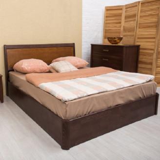 Кровать Сити с механизмом с интарсией Олимп