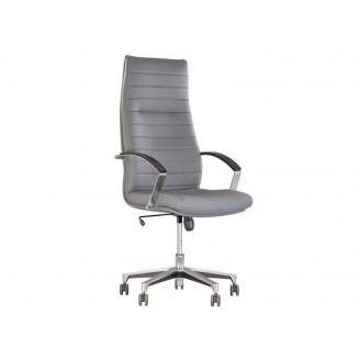 Кресло для руководителя Iris steel Tilt AL35 Nowy Styl