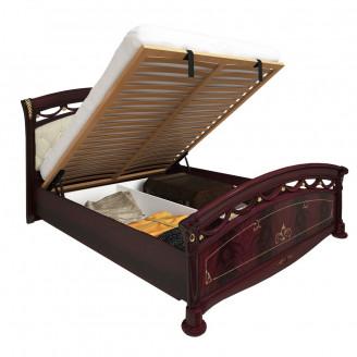 Кровать с мягкой спинкой и механизмом MiroMark Роселла Люкс 160*200