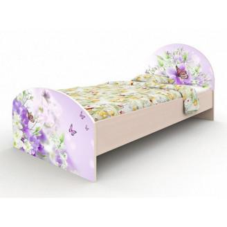 Кровать Природа без ящиков 90*190 Вальтер
