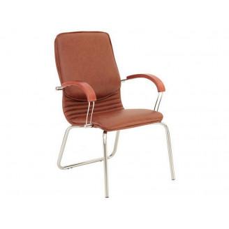 Кресло для руководителя Nova wood CFA LB chrome Nowy Styl
