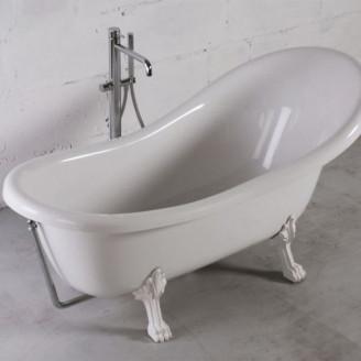Ванна из литого камня на ножках Леди Гаммильтон Fancy Marble