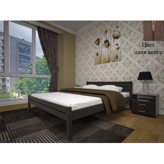 Кровать Тис Классика 140X200 олия венге У-1