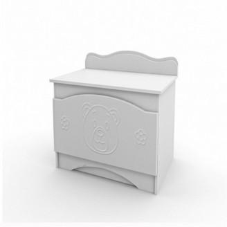 Ящик для игрушек Мишка Белый Вальтер