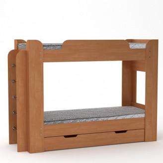 Двухъярусная кровать Твикс с ящиком 190*70 Компанит