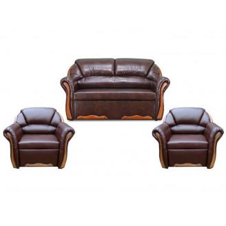 Комплект Бостон Люкс 211 с раскладными креслами Вика