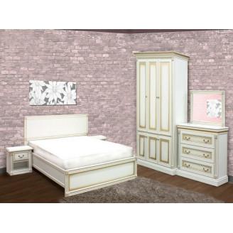 Спальня с трехдверным шкафом Мира Скай