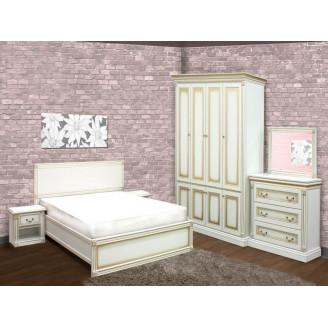 Спальня с четырехдверным шкафом Мира Скай