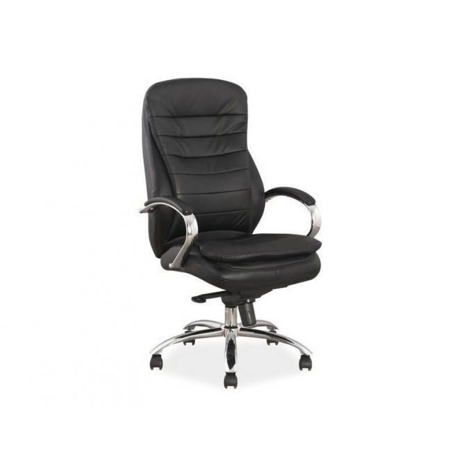 Офисное кресло Q-154 Кожа Черный Signal